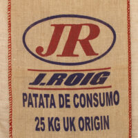 Hessian Printed Bag for Potatoes